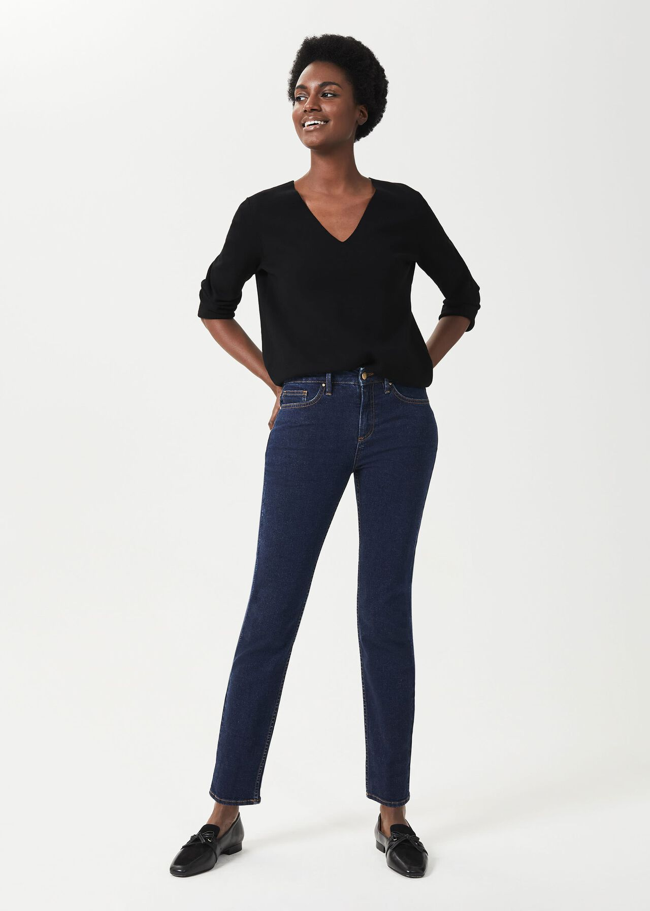 Sukey Slim Jeans, Light Indigo, hi-res