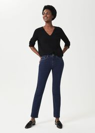 Sukey Slim Jeans, Light Indigo, hi-res