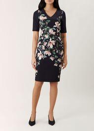 Astraea V Neck Dress, Multi, hi-res