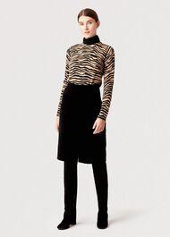 Arnelle Skirt, Black, hi-res