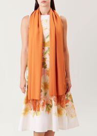 Matilda Scarf, Sunset Orange, hi-res