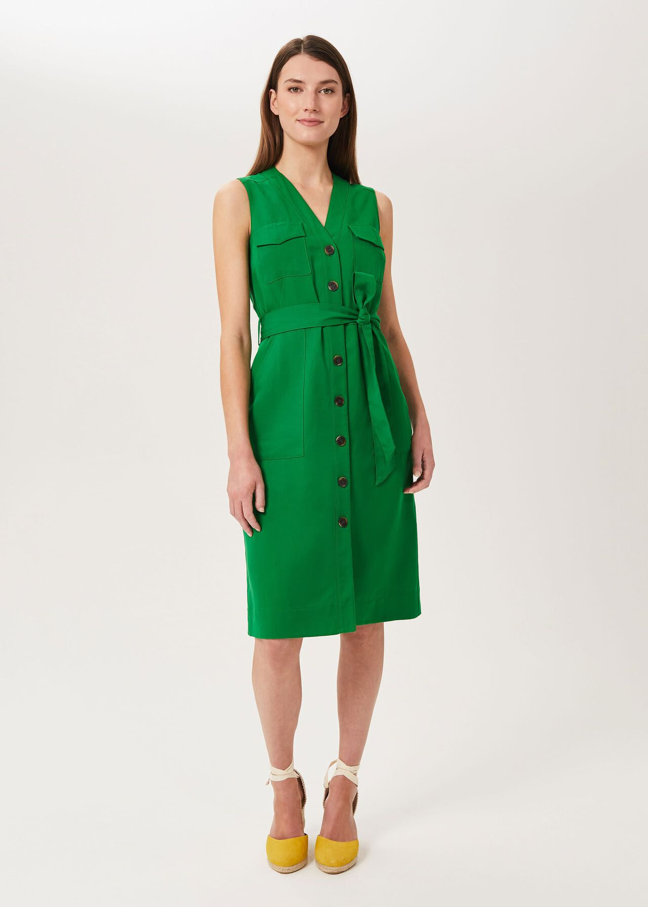 Tillie Dress, Jolly Green, hi-res