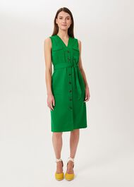 Tillie Dress, Jolly Green, hi-res