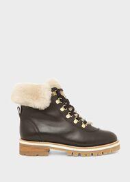 Kaden Suede Ankle Boots, Black, hi-res
