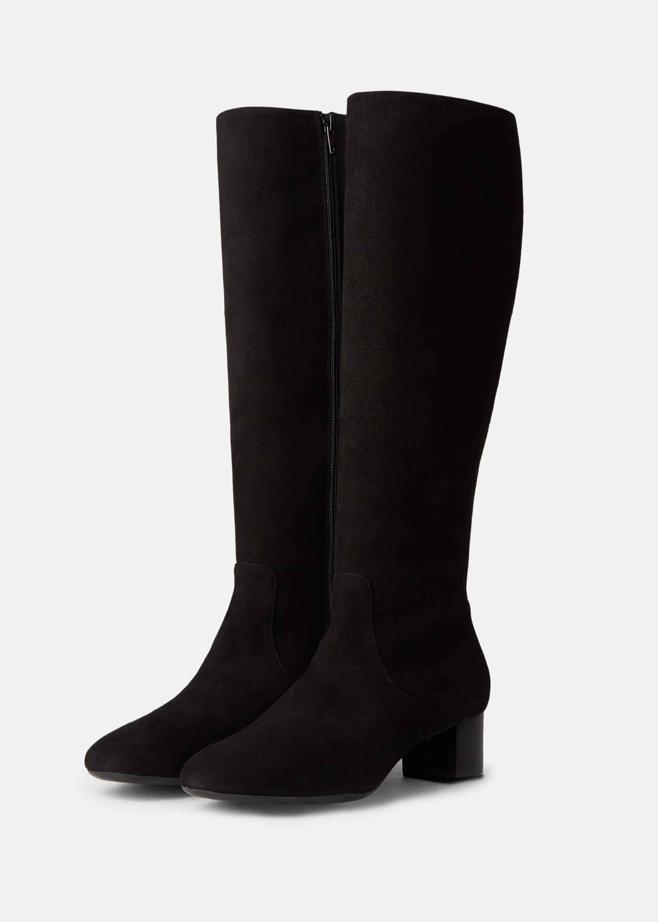 Sadie Knee Boot Black