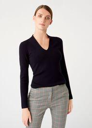 Ingrid Sweater, Navy, hi-res