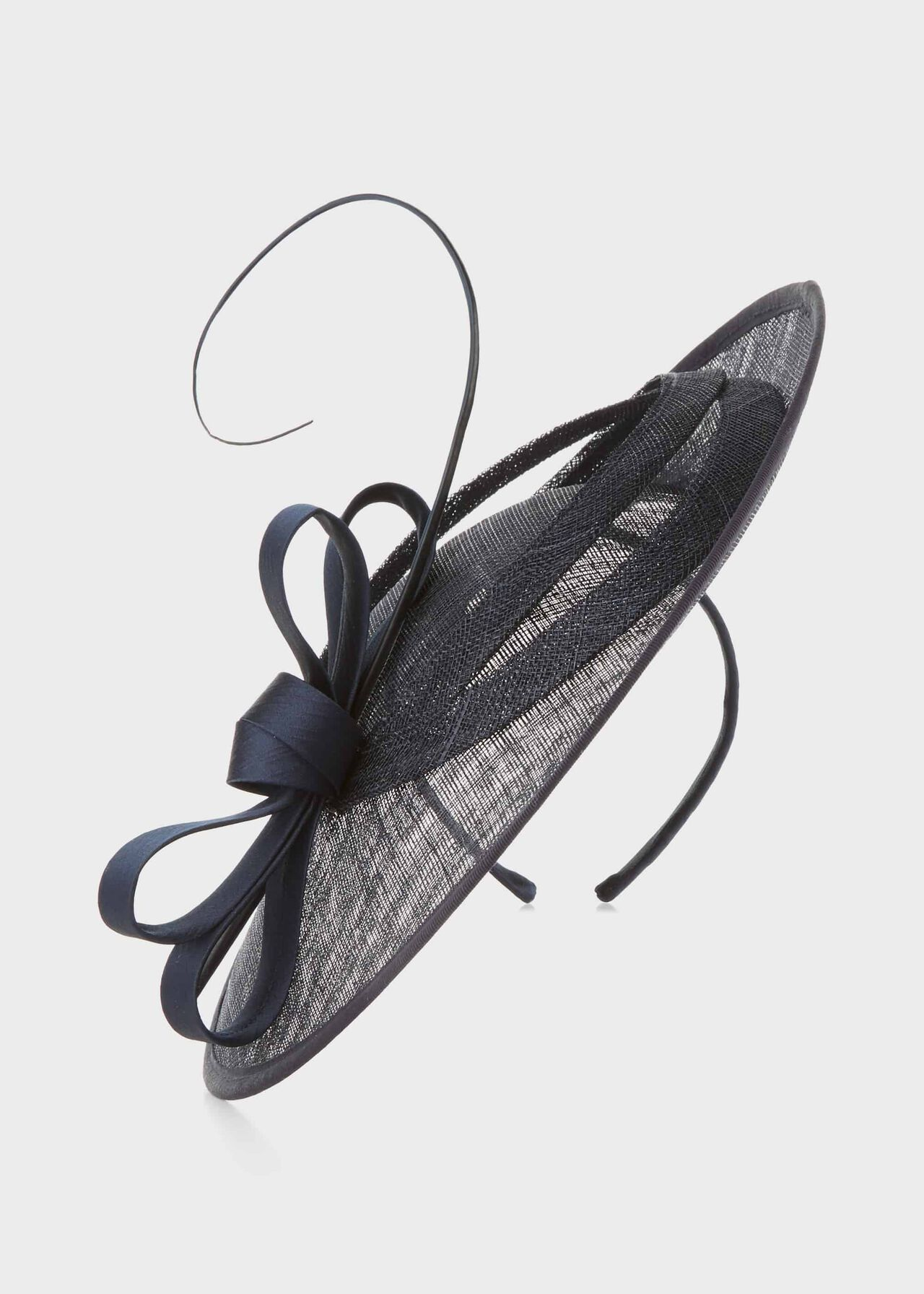 Arabella Fascinator Navy