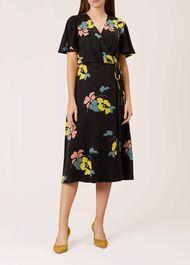 Peggy Dress, Black Multi, hi-res