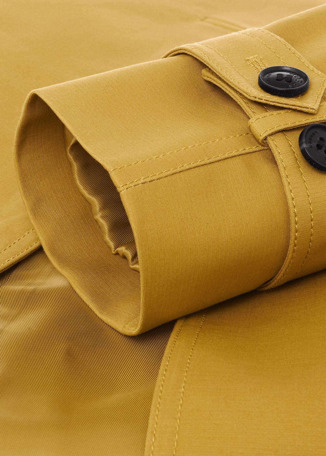 Saskia Water Resistant Trench Coat, Chartreuse, hi-res