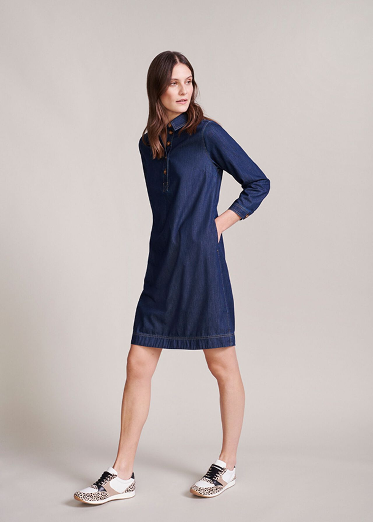 The Jenny Denim Dress Outfit, , hi-res