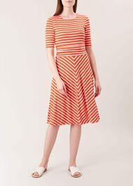 Bayview Dress, Mango White, hi-res