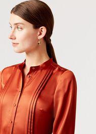 Simone Earring, Gold, hi-res