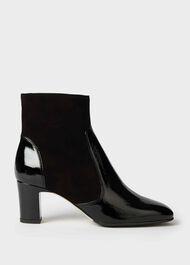 Patricia Zip Boot, Black, hi-res
