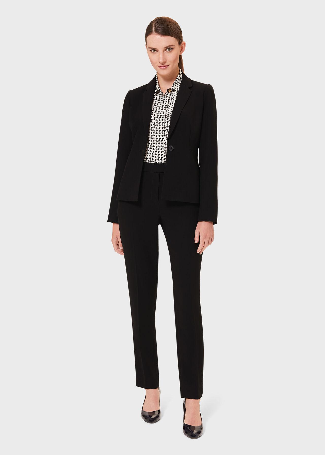 Alva Co-ord Tapered Trouser Suit, , hi-res