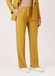 Verity Trousers, Mustard, hi-res