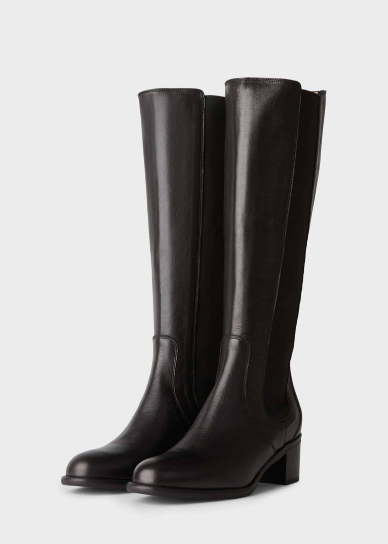 Emma Knee Boot Black
