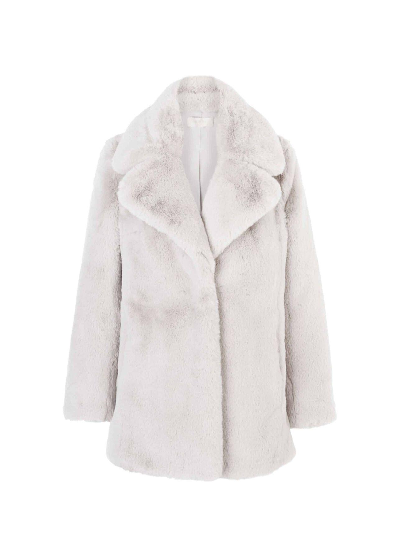 Bethany Coat Silver