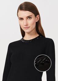 Julie Sweater, Black, hi-res