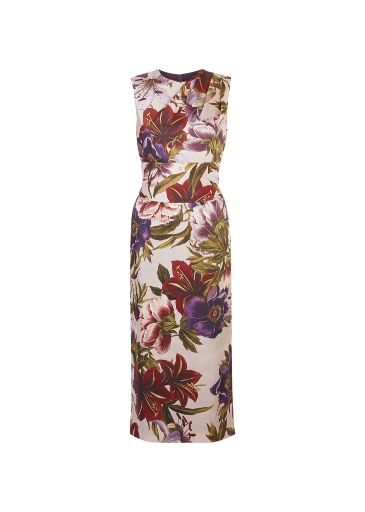 Thao Floral Dress Blush Multi