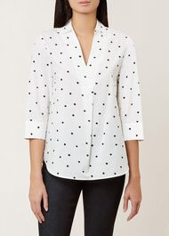 Mina Top, Ivory Black, hi-res