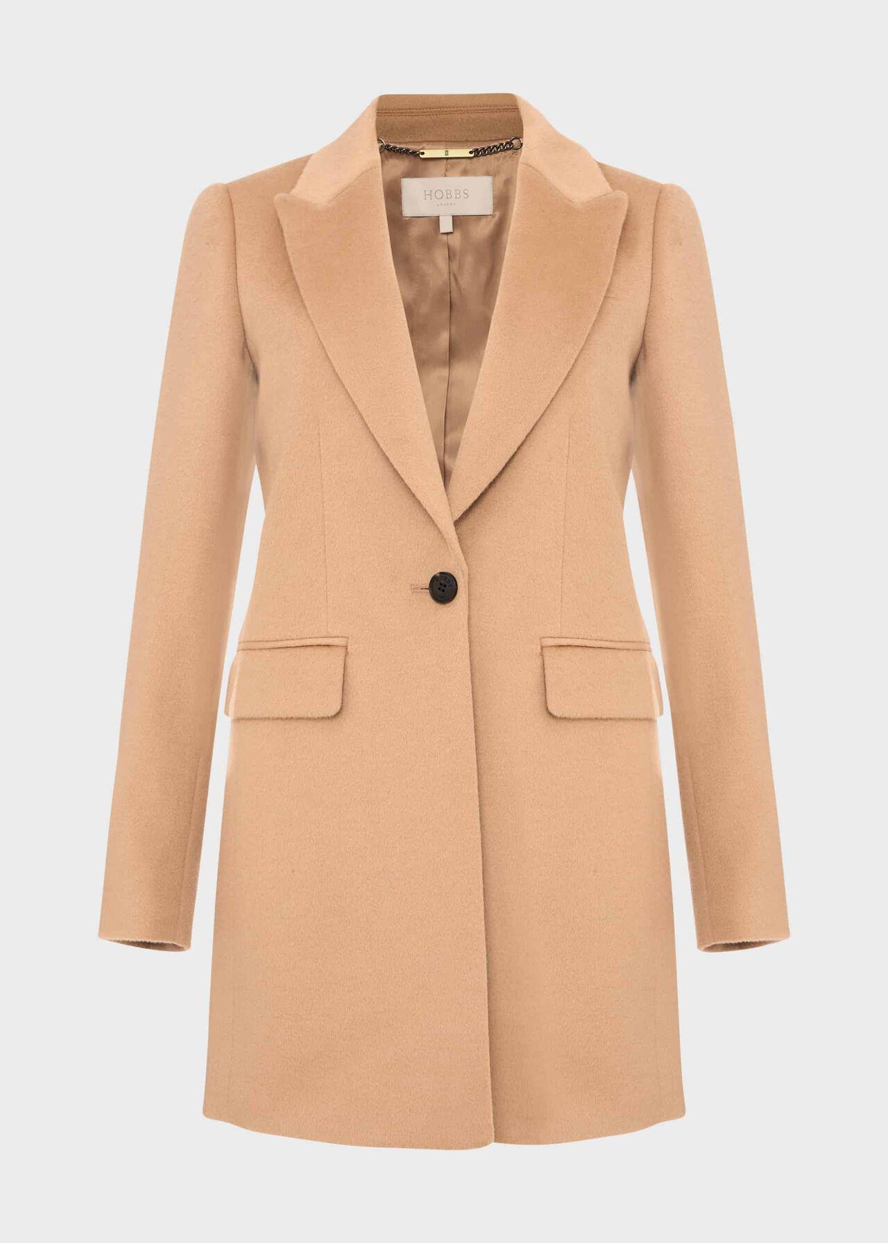 Lexi Wool Coat Camel