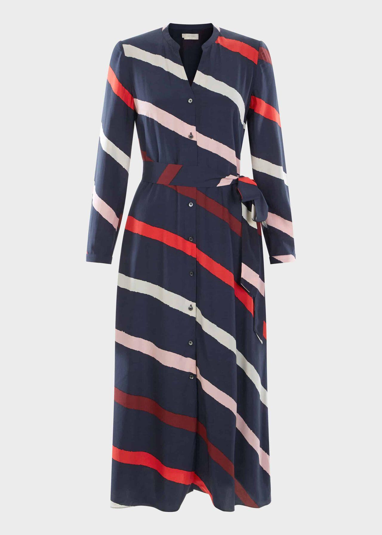Ginnie Dress Navy Multi