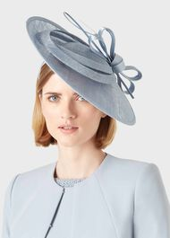 Arabella Fascinator, Pale Blue, hi-res