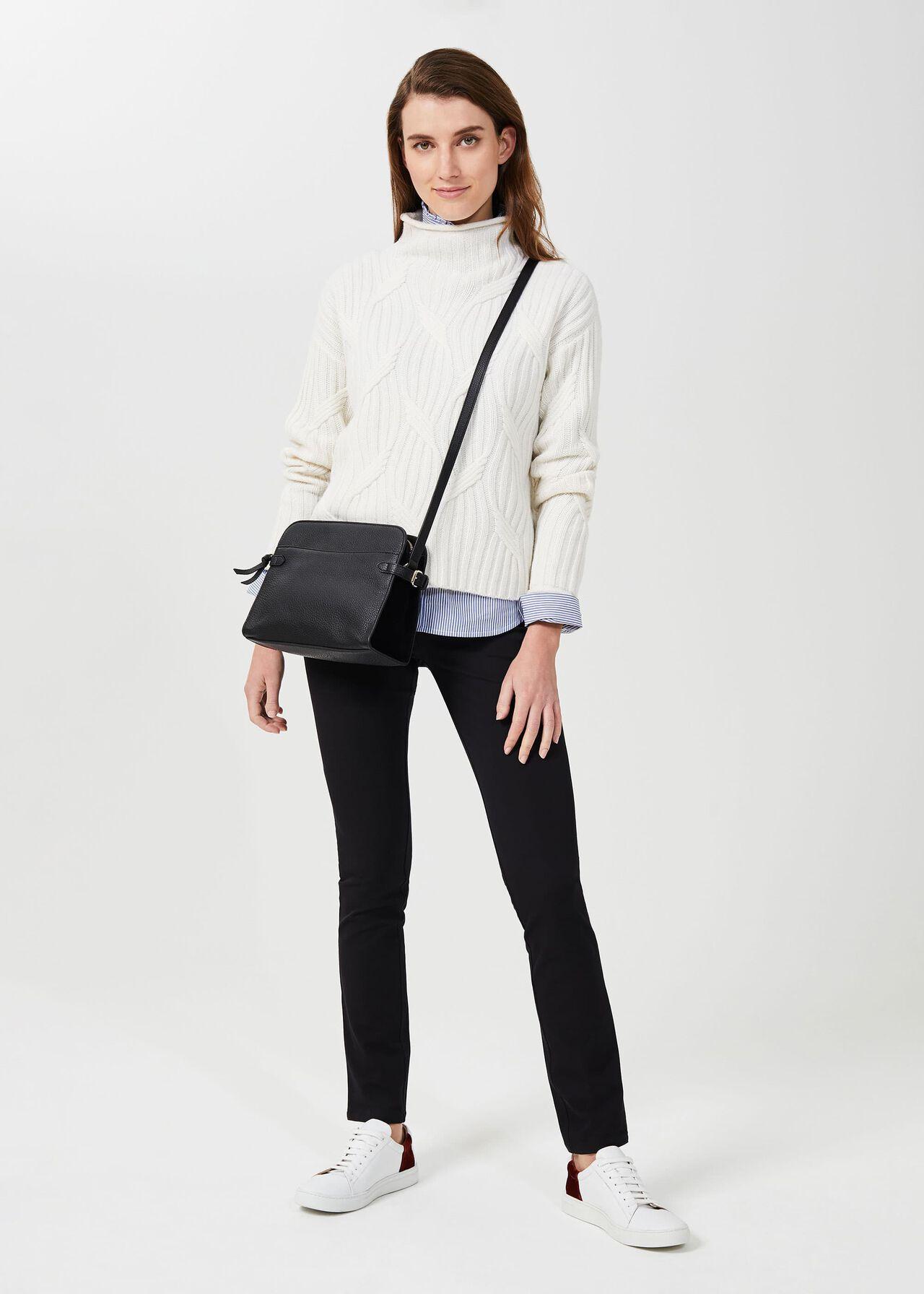 Amanda Skinny Jeans With Stretch, Black, hi-res