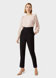 Aubree Colourblock Jumpsuit, Blush Black, hi-res