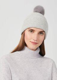 Ember Wool Hat, Grey Marl, hi-res