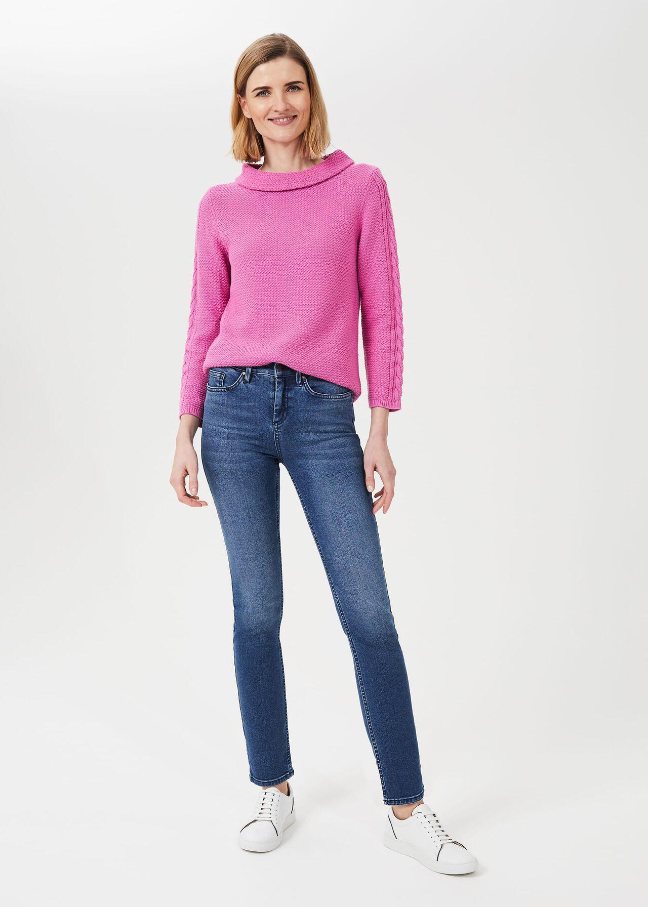 Sukey Slim Jeans, Mid Wash, hi-res