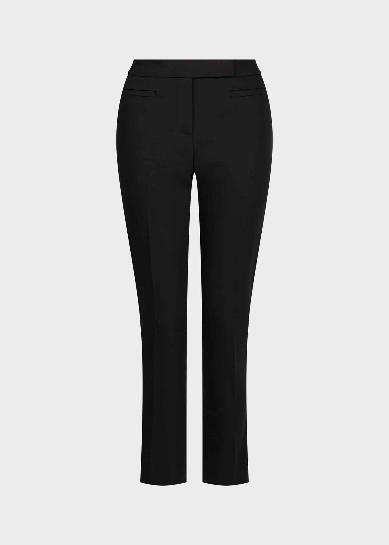 Petite Annie Slim trousers Black