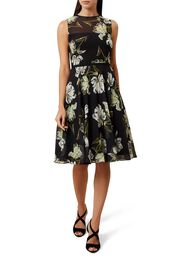 Eve Dress, Black Multi, hi-res