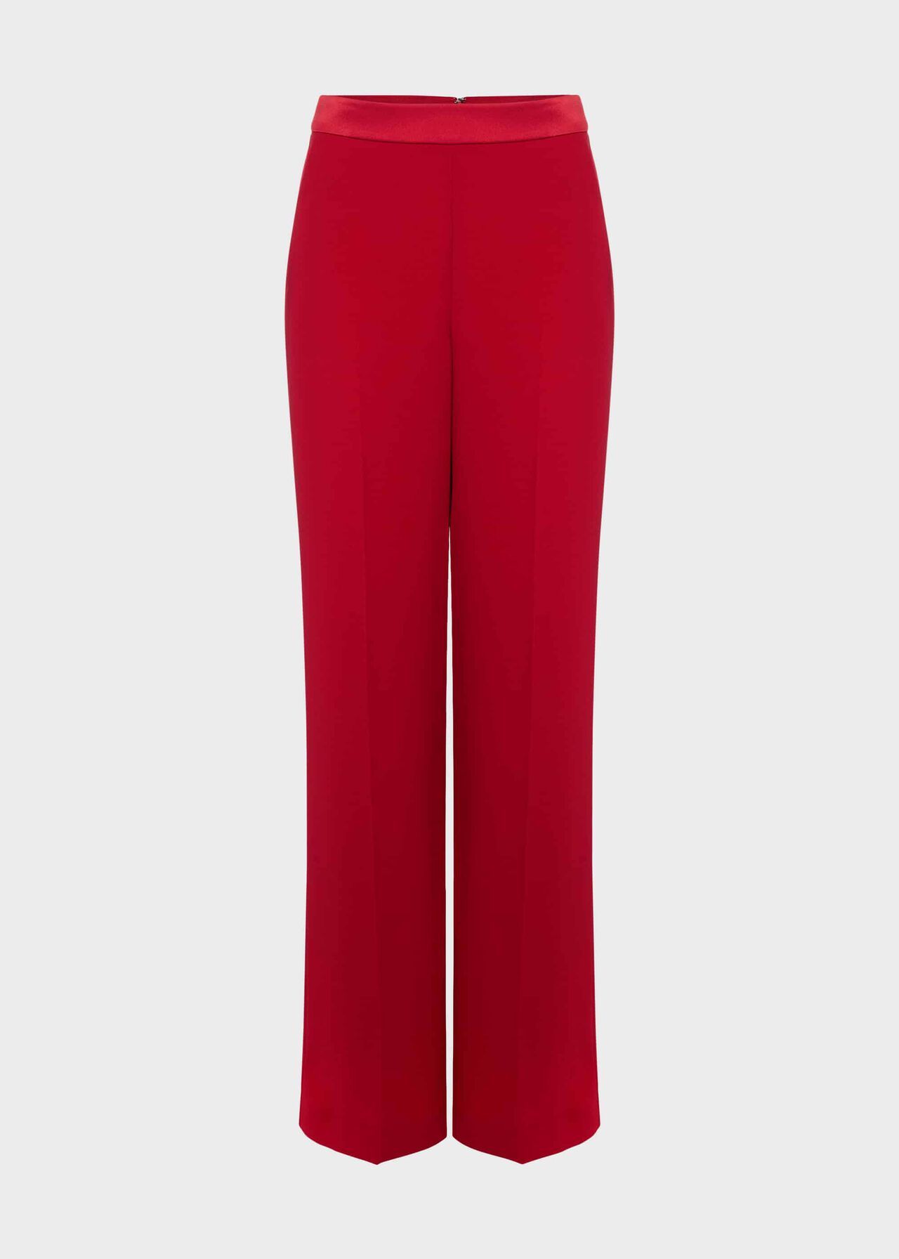 Lalena Wide Leg Trouser Poppy Red