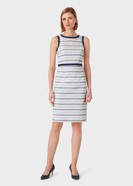 Marianna Dress, Blue Ivory, hi-res