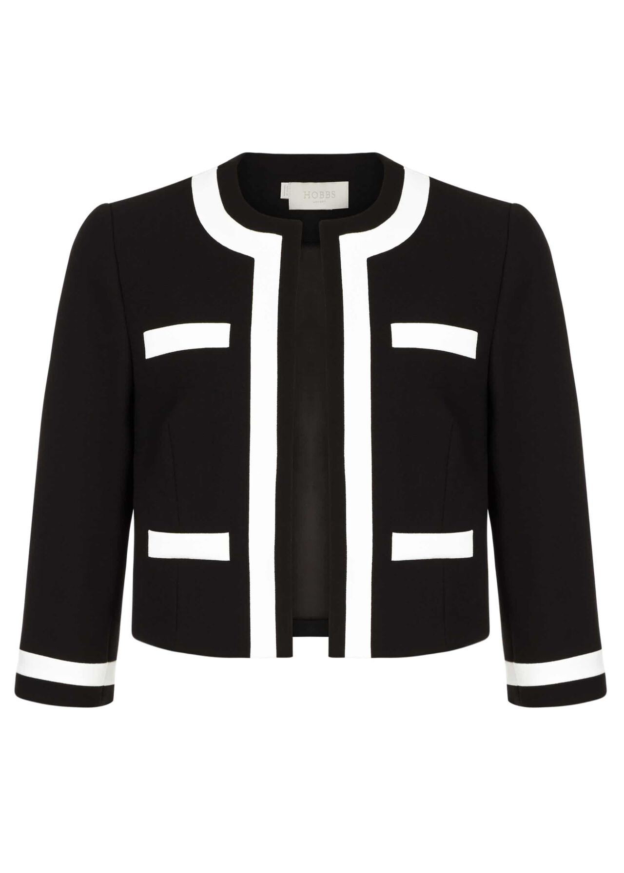 Jackie Jacket Black Ivory