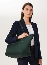 Norfolk Nylon Tote Bag, Green, hi-res