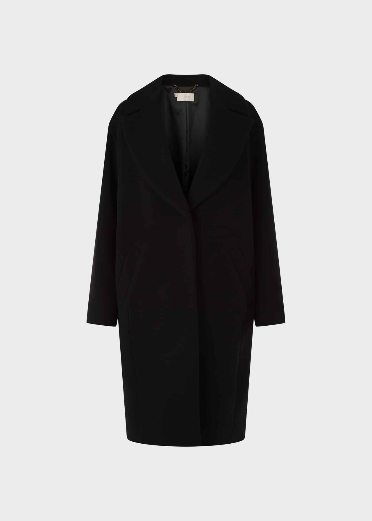 Jane Wool Blend Coat Black