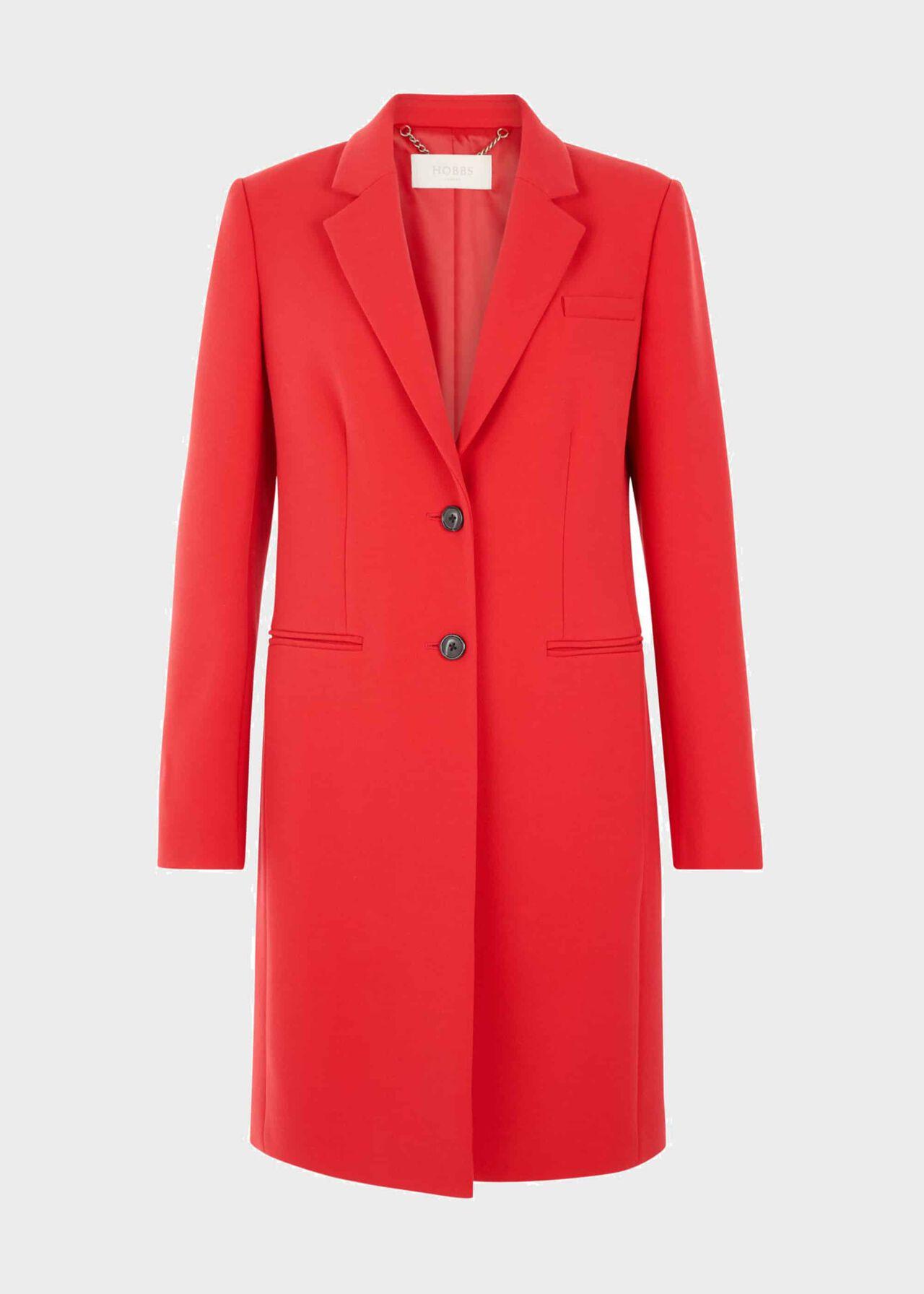 Spring Tilda Coat Red