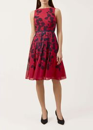Sienna Dress, Cerise Midnight, hi-res