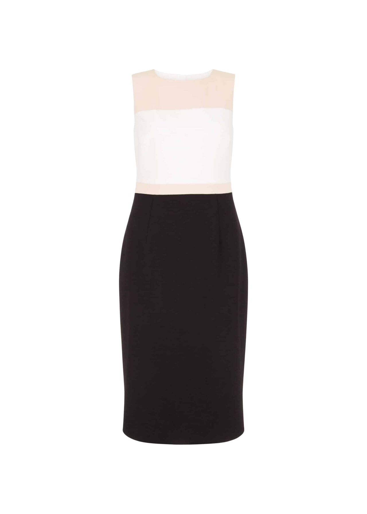 Petite Leah Dress Black Pink