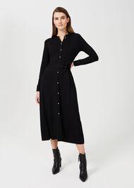 Marta Dress, Black, hi-res