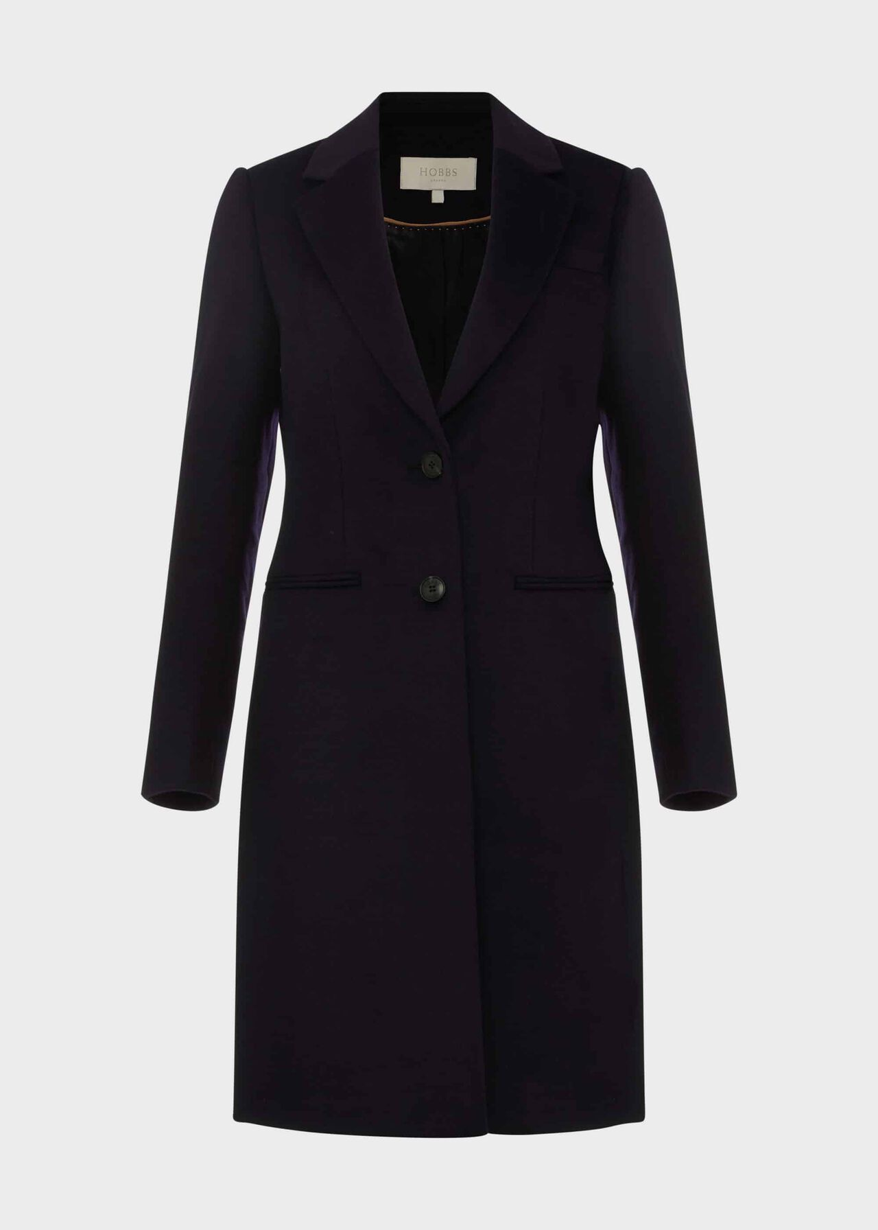 Tilda Wool Coat Navy