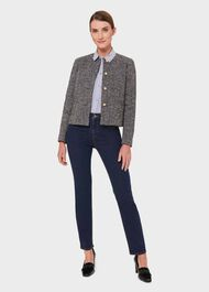 Dana Jacket With Wool, Grey, hi-res