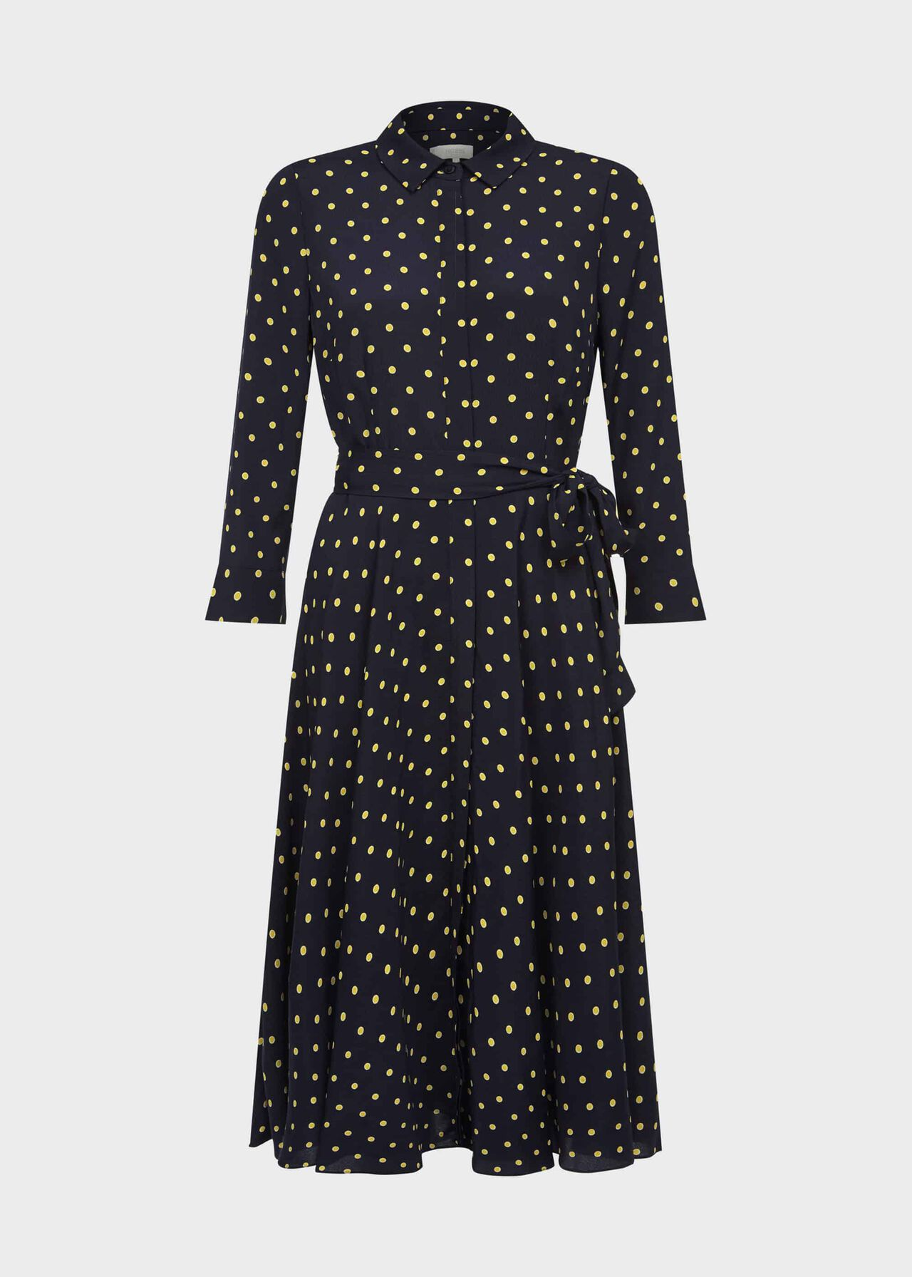 Petite Lainey Dress Navy Bamboo