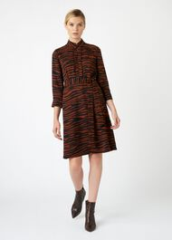 Lois Dress, Tobacco Black, hi-res