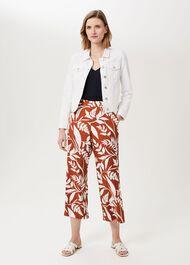 Mariam Denim Jacket, Milky White, hi-res