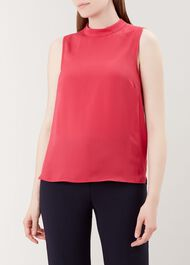 Fenella Top, Raspberry Pink, hi-res