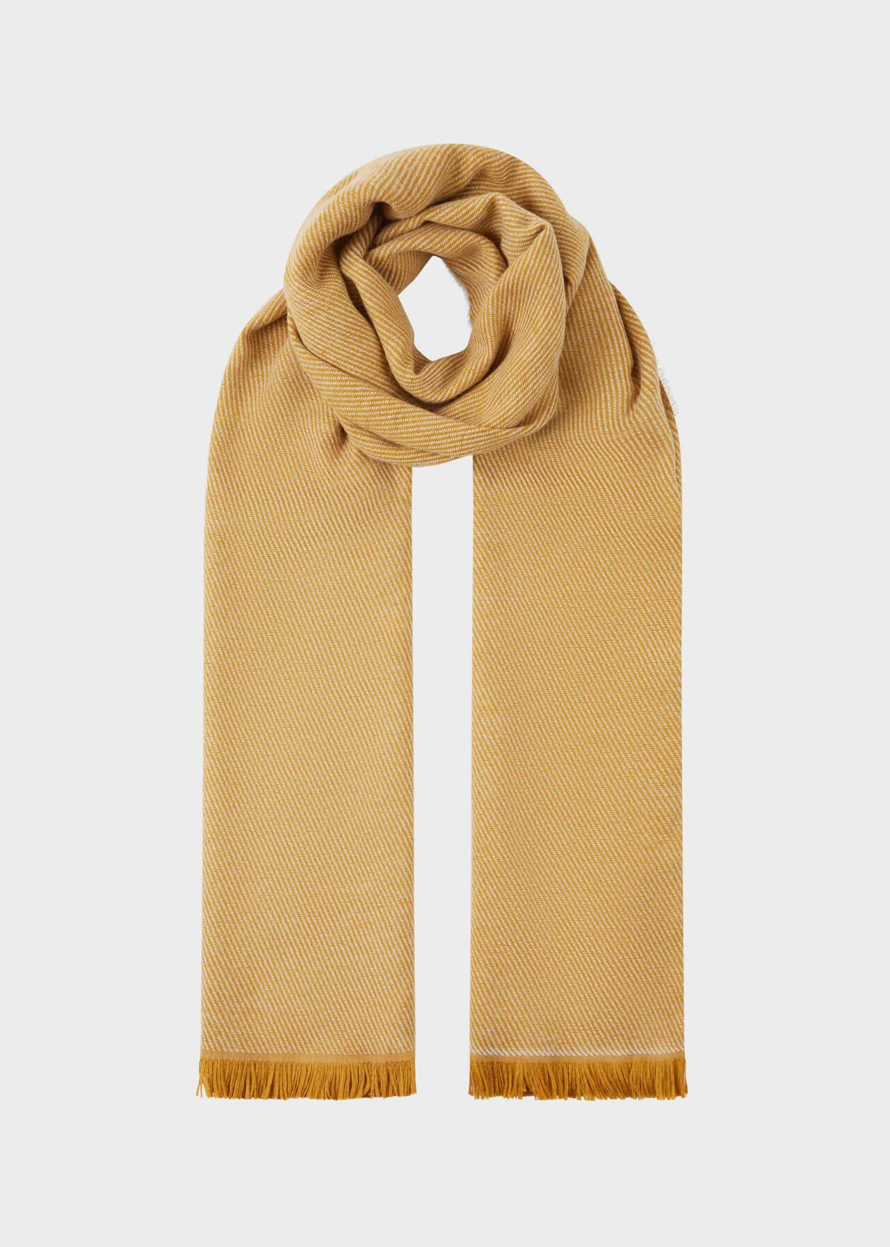 Willow Scarf, Ochre, hi-res
