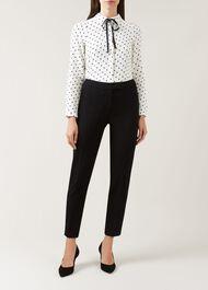 Kirsty Trousers, Black, hi-res